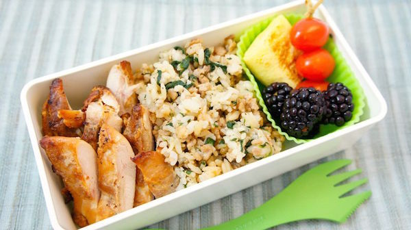Idées de Boîte à Lunch Santé #23 ::: Poulet Style Pari Pari