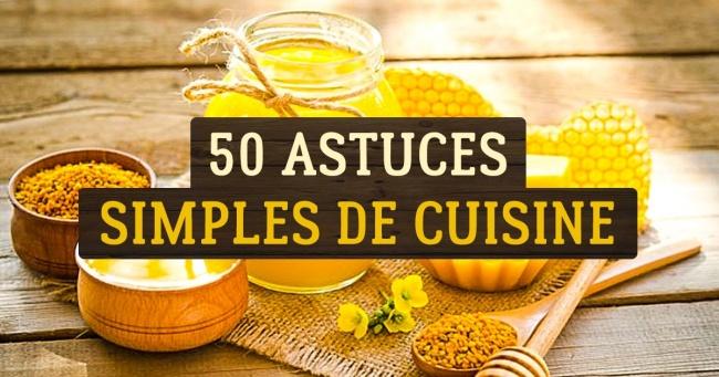 50 Astuces de Cuisine qui Rendent la Nourriture plus Saine