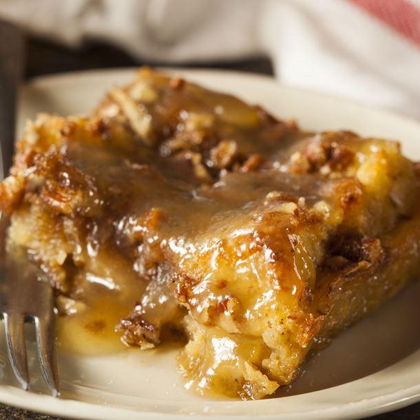 Photo Recette Pudding aux Noix de Pécan et au Sirop D'érable