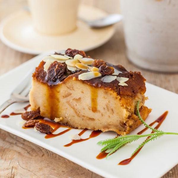 Pudding Facile aux Raisins