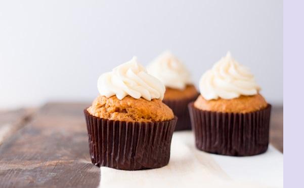Photo Recette Cupcakes à la Citrouille Parfait pour l'Automne