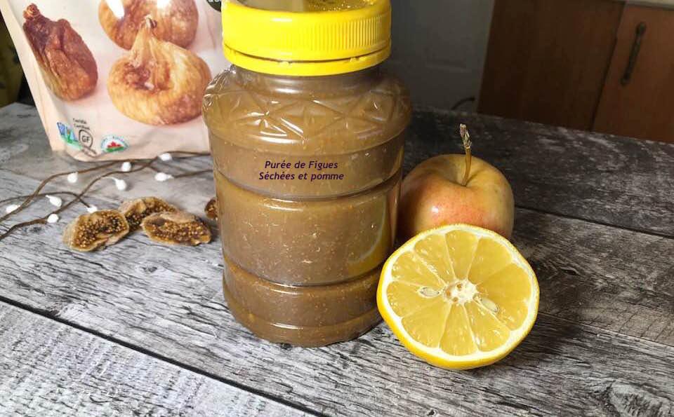 Purée de Figues séchées et Pomme