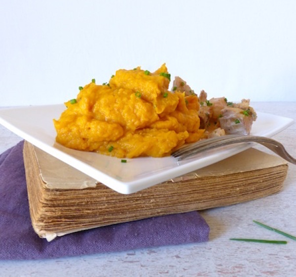 Purée de Patate Douce pour Manger Sans Gluten et Varié