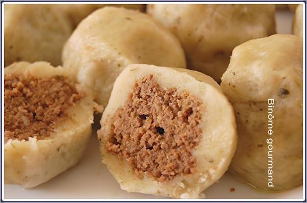 Pyzy z miesem ( Boulettes à la viande – recette Polonaise)