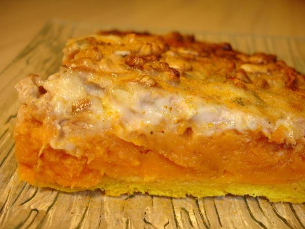 Photo Recette Quiche aux Patates Douces Gorgonzola et Noix