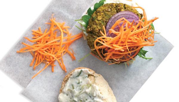 Photo Recette Quinoa et Pois Chiche Burger