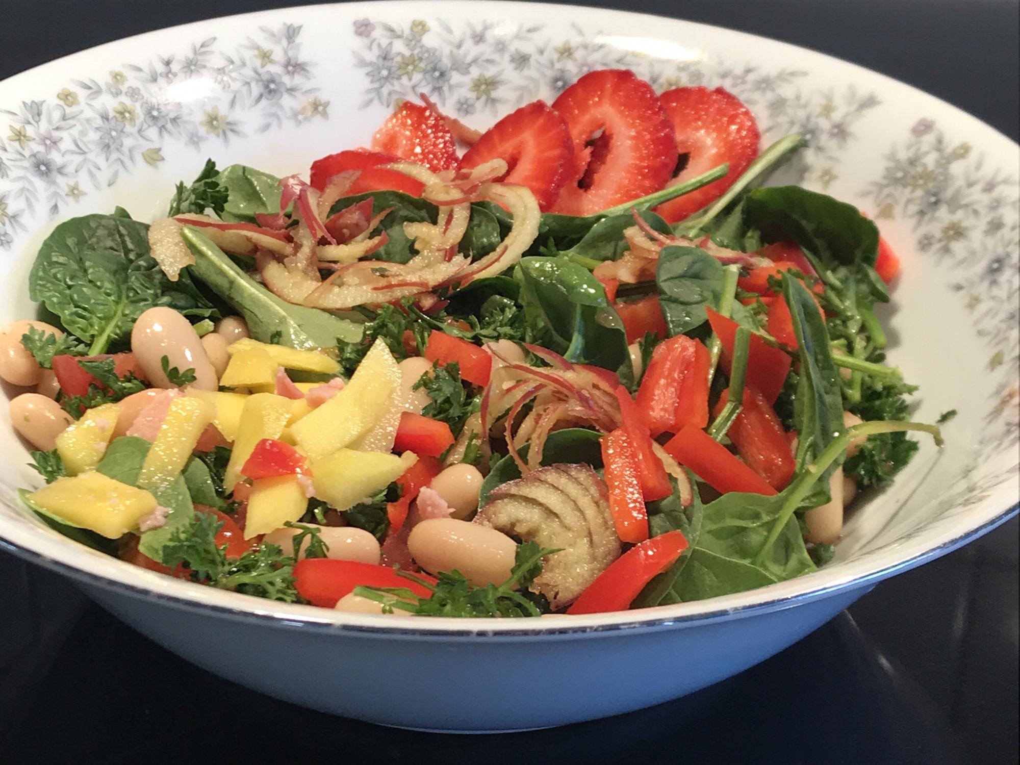 Photo Recette Rafraichissante Salade de Fruits et Légumes