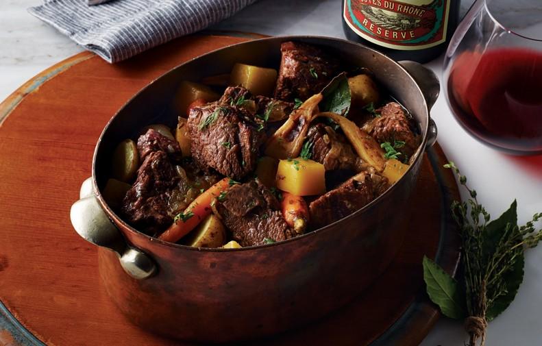 Ragoût de Bœuf et de Légumes D'automne