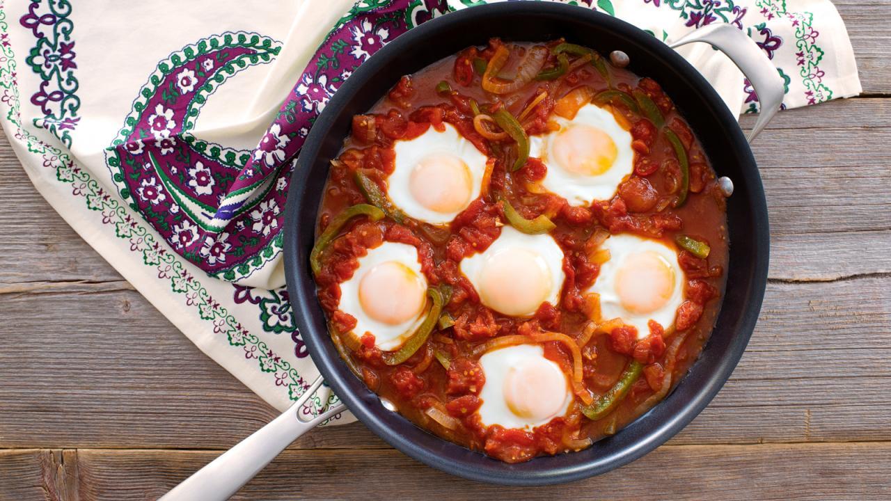 Photo Recette Ragoût de Légumes et D'œufs (menemen)