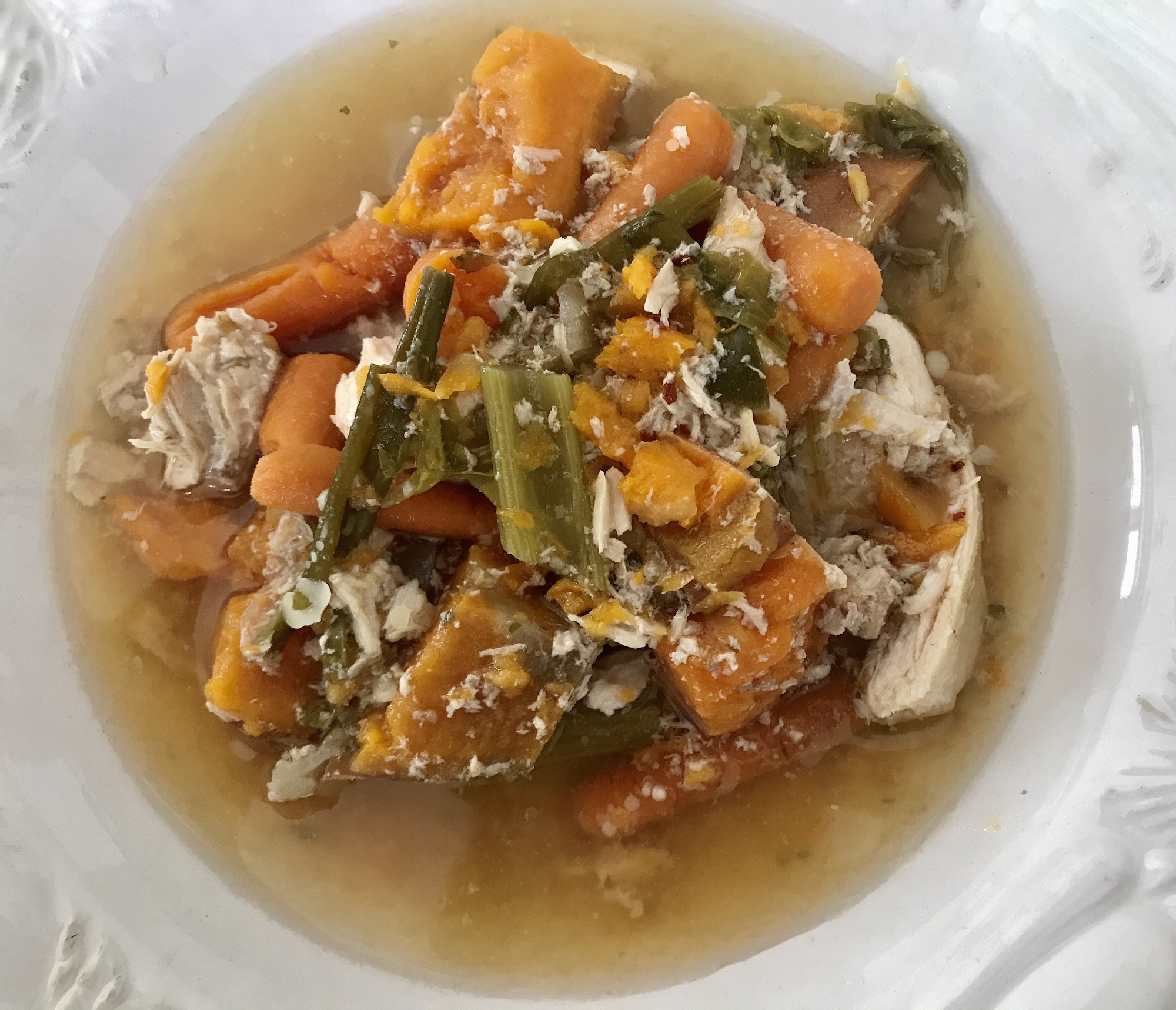 Ragoût de Poulet et Légumes