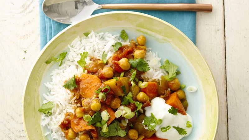 Ragoût Végétarien à L'indienne