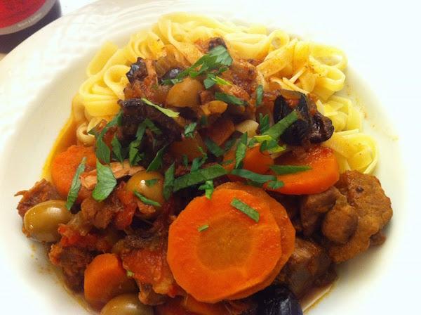 Photo Recette Ragoût aux Olives et Chorizo