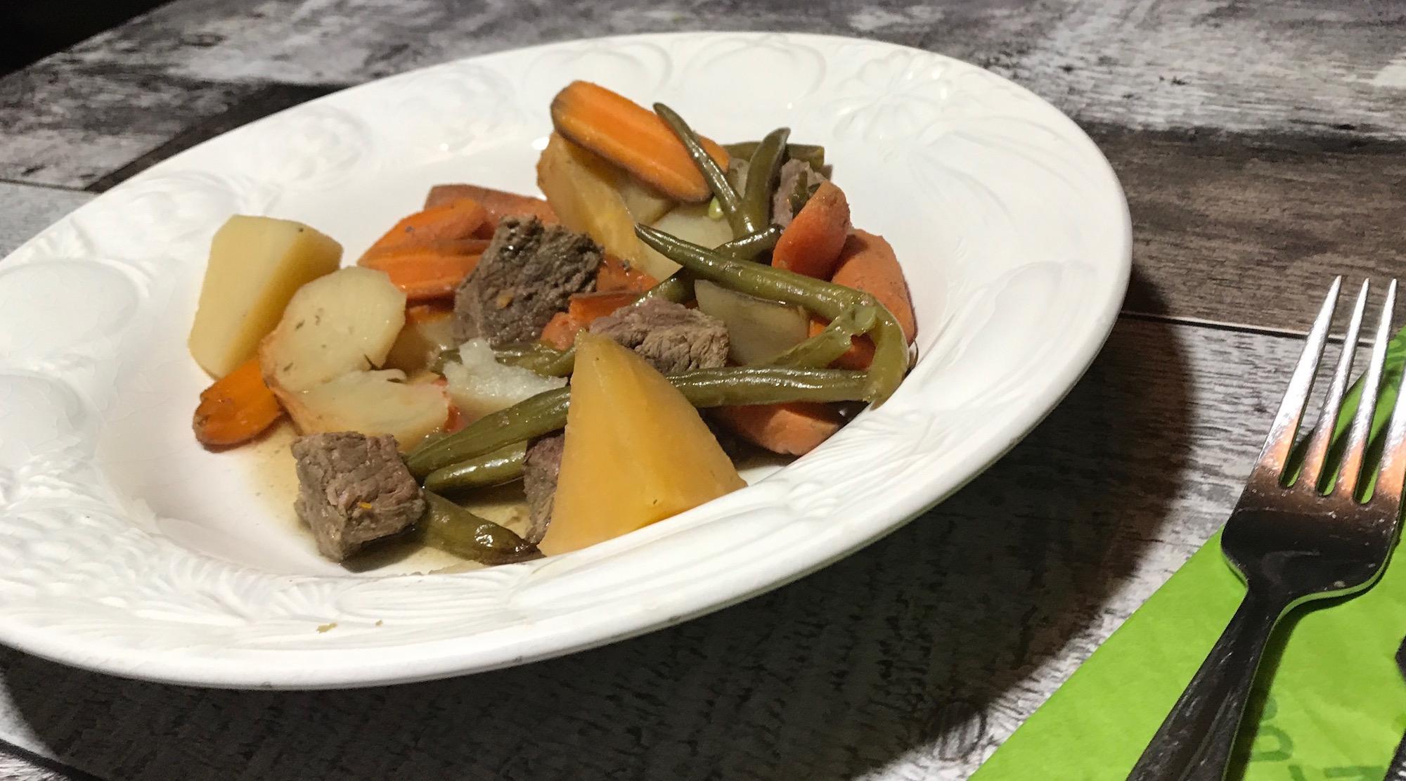 Ragout de Boeuf et Légumes