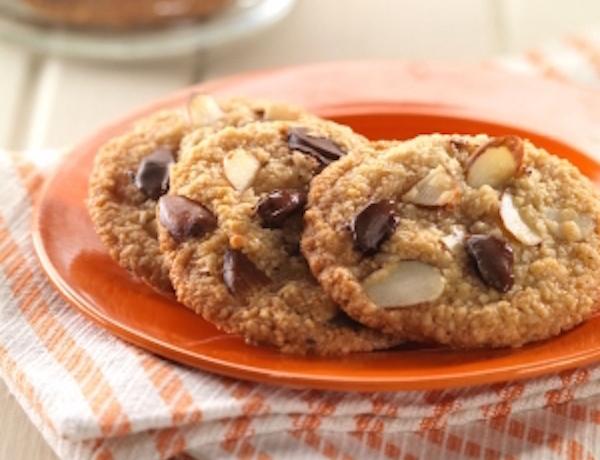 Recette Biscuits Double Amande aux Pépites de Chocolat (sans gluten)