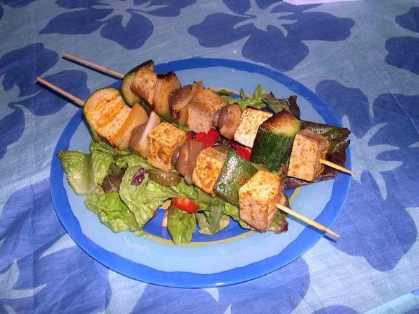 Photo Recette Brochettes Végétariennes