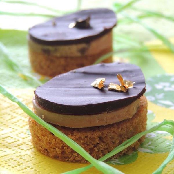 Photo Recette Canapés de Pain D'épices au Foie Gras au Chocolat