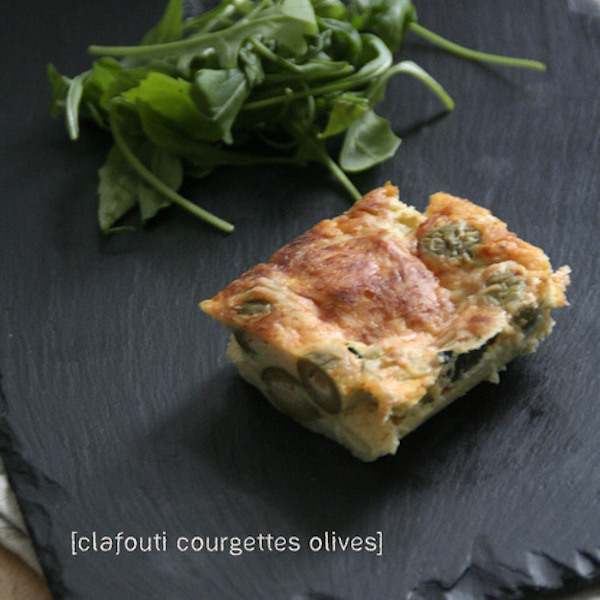 Photo Recette Clafoutis Courgettes et Olives