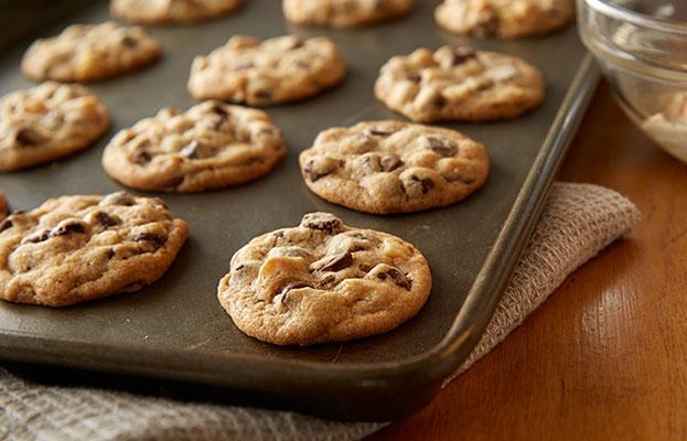 Biscuits Aux Noix De Macadamia Et Aux Grains De Chocolat Noir CHIPITS