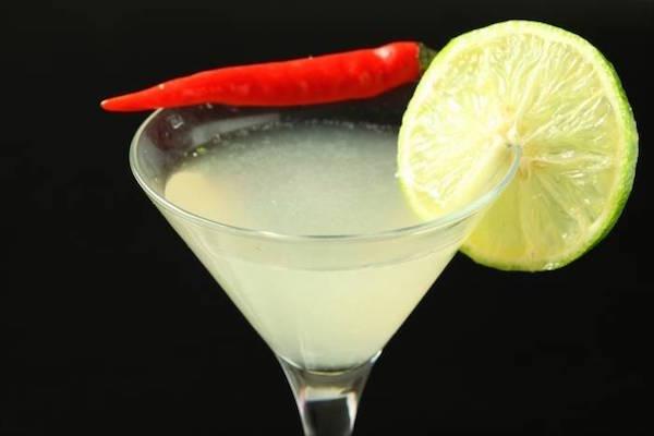 Photo Recette Cocktail Gin et Citron Vert au Piment