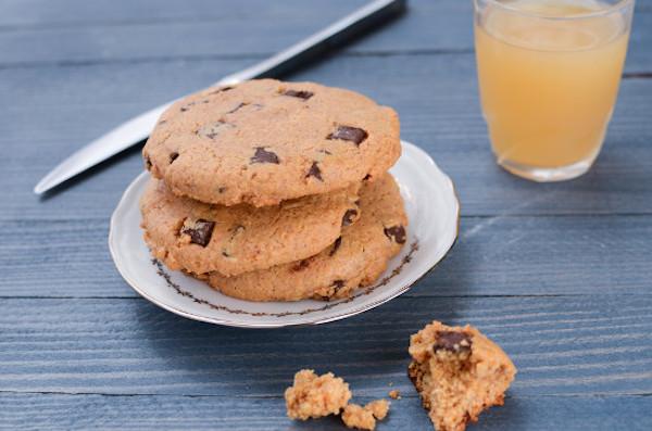 Recette de Cookies Chocolat – Cacahuète Sans Gluten