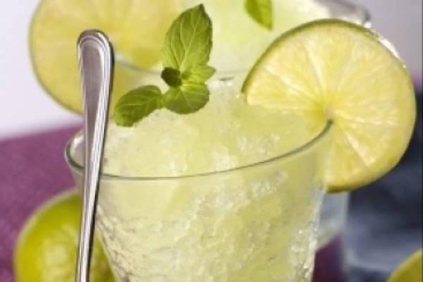 Recette de Granité Citron Vert
