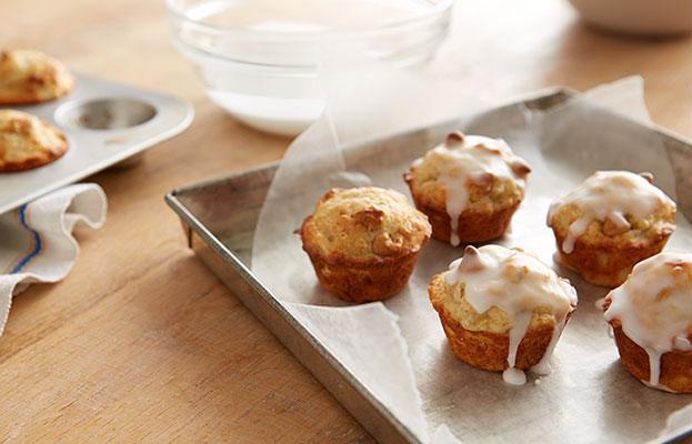 Photo Recette Recette De Mini Muffins Aux Bananes Et Grains Au Beurre D'arachides