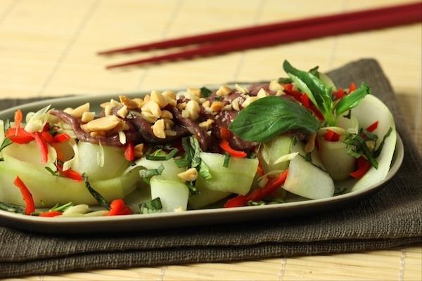 Recette de Salade de Boeuf à la Citronnelle
