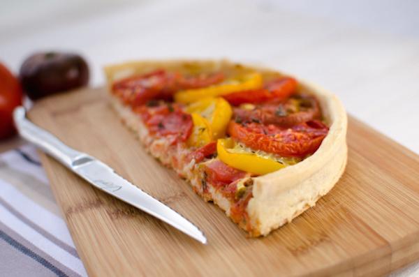 Recette de Tarte à la Tomate Sans Gluten