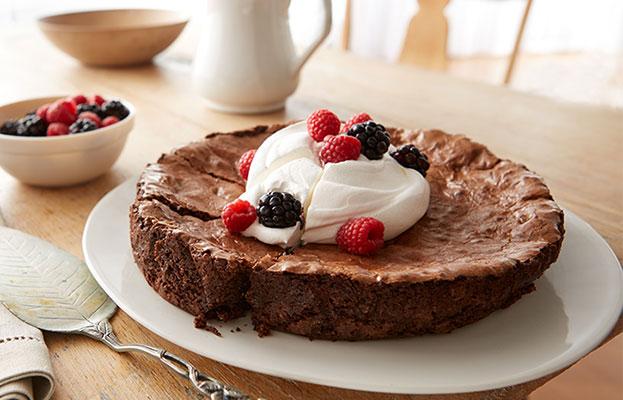 Recette De Tarte De Brownie Aux Baies