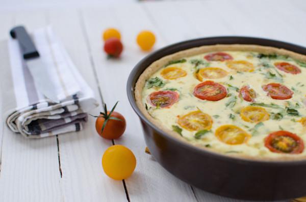 Recette de Tarte Salée Chorizo – Tomate Sans Gluten