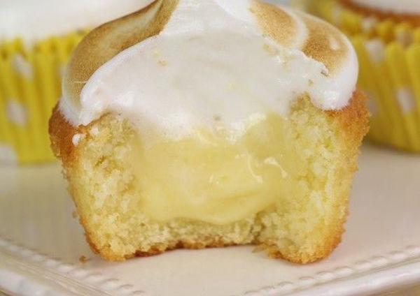 Photo Recette Cupcakes Citron Meringués