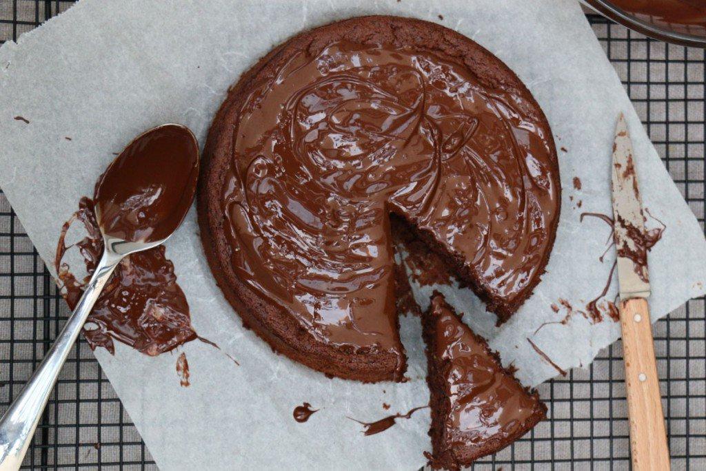 Recette: Gâteau Chocolat Courgette sans Beurre et Sans ...