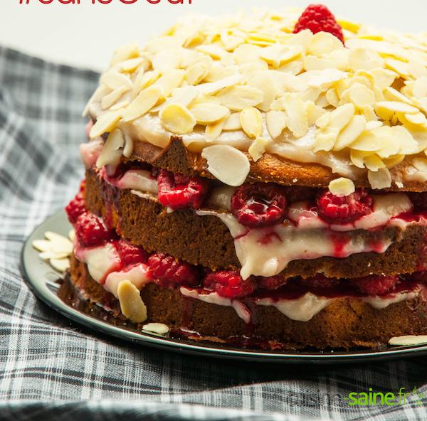 Gâteau à Étages Vegan, Sans Gluten, Sans Lait, sans œuf et Sans Soja