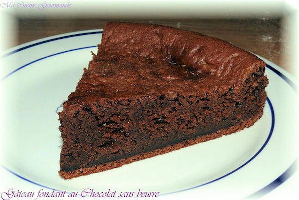 Recette Gâteau Fondant au Chocolat Sans Beurre