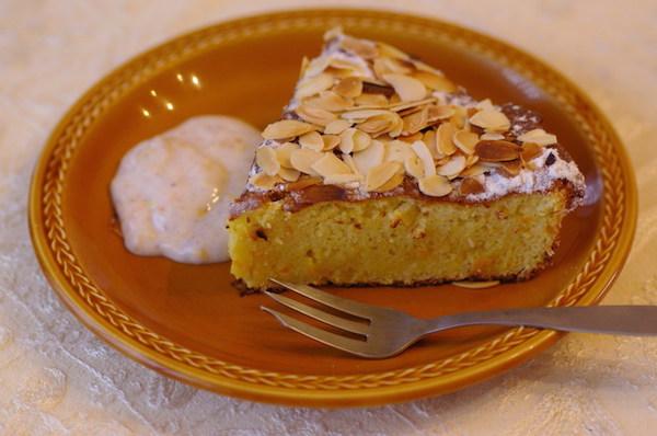 Photo Recette Gâteau Sicilien à L'orange et aux Amandes