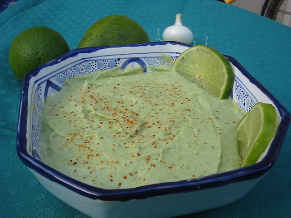 Recette Guacamole à L'oignon et Piment de Cayenne