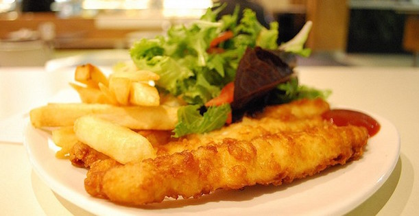 Irlandaise Traditionnel Fish and Chips