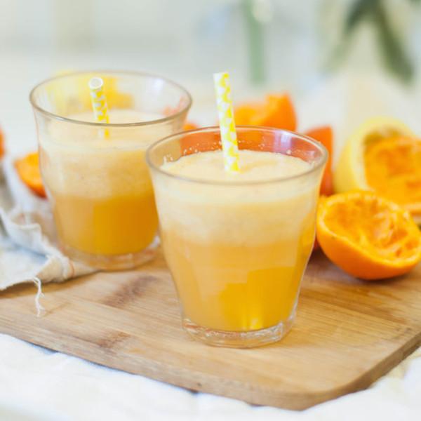 Photo Recette Jus Vitaminé Mandarines, Pomme, Citron