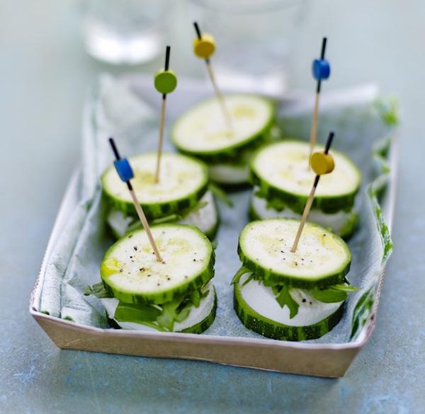 Photo Recette Mini-Burgers de Courgette à la Mozzarella