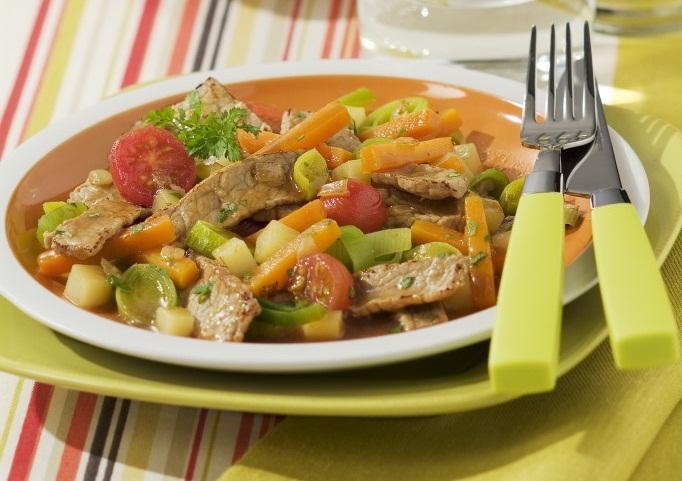 Photo Recette Noix de Veau aux Petits Légumes