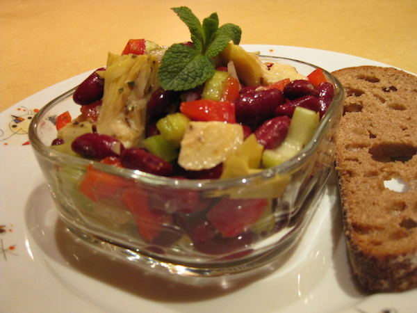 Recette Salade de Fèves Rouges Simple et Rapide