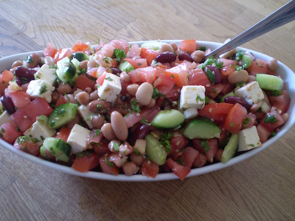 Photo Recette Salade de Légumineuses à la Grecque