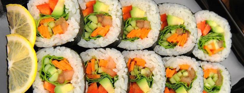 Photo Recette Sushi Végétarien