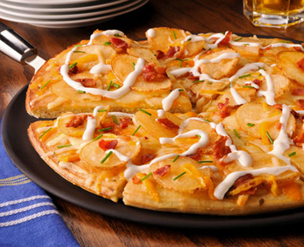 Pizza aux Chippers