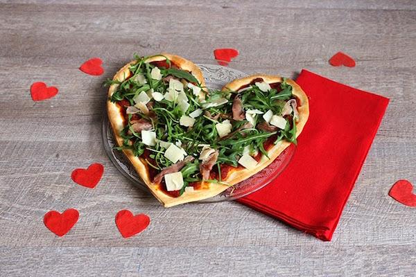 Repas de Saint-Valentin en 30min Pizza D'amour