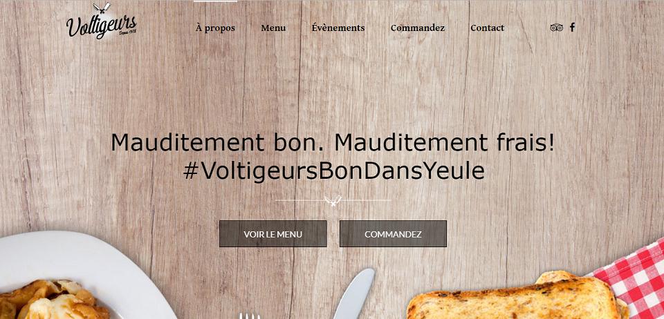Restaurant Voltigeurs Sainte -Thérèse en Ligne