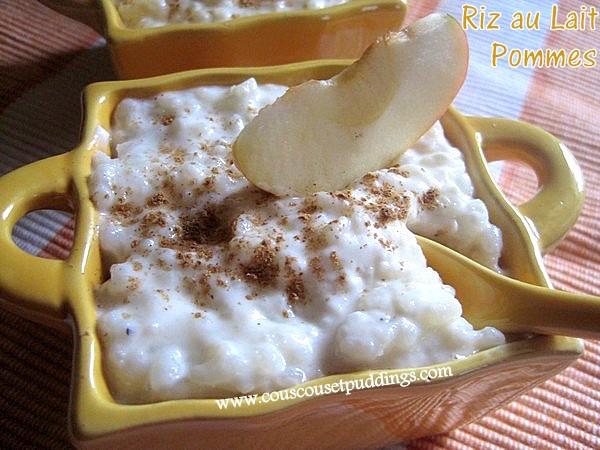 Photo Recette Riz au Lait aux Pommes