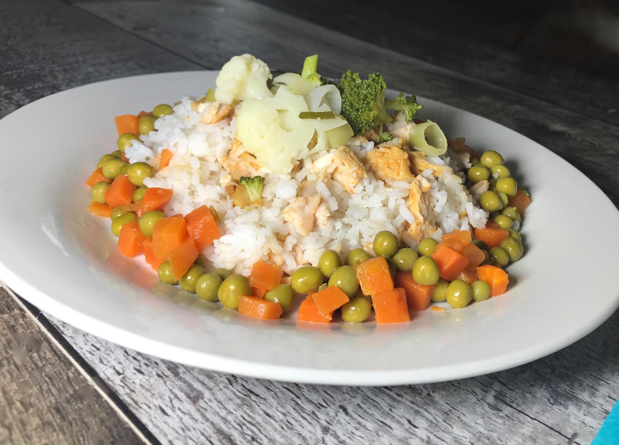 Photo Recette Riz au Poulet et Légumes
