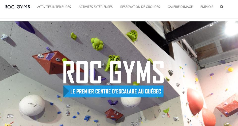 Roc Gyms en Ligne