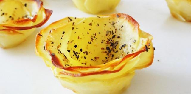 Photo Recette Rose en Pommes de Terre